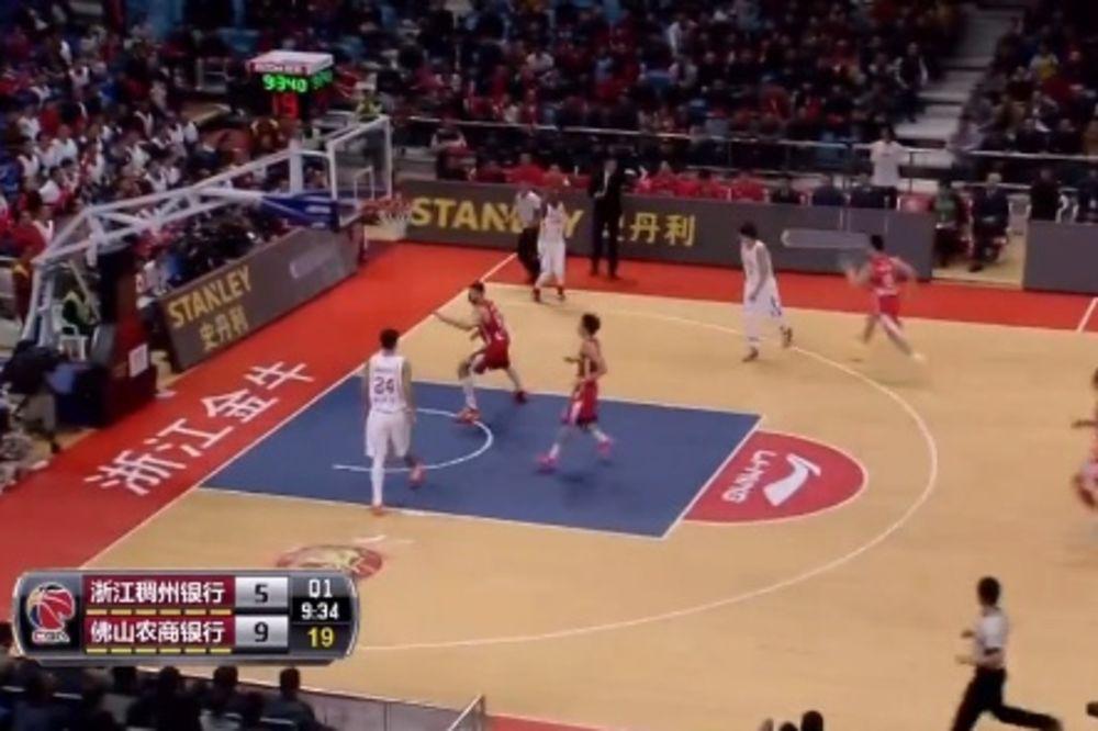 IMPRESIVNO: Amerikanac u Kini upisao jednu od najboljih partija u profesionalnoj košarci
