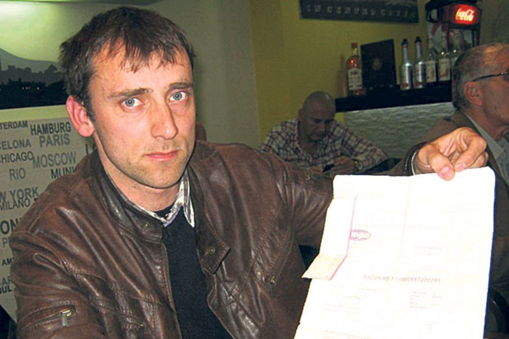 Valjevac Dejan Pantelić: Zaplenili su mi stvari zbog tuđeg duga!
