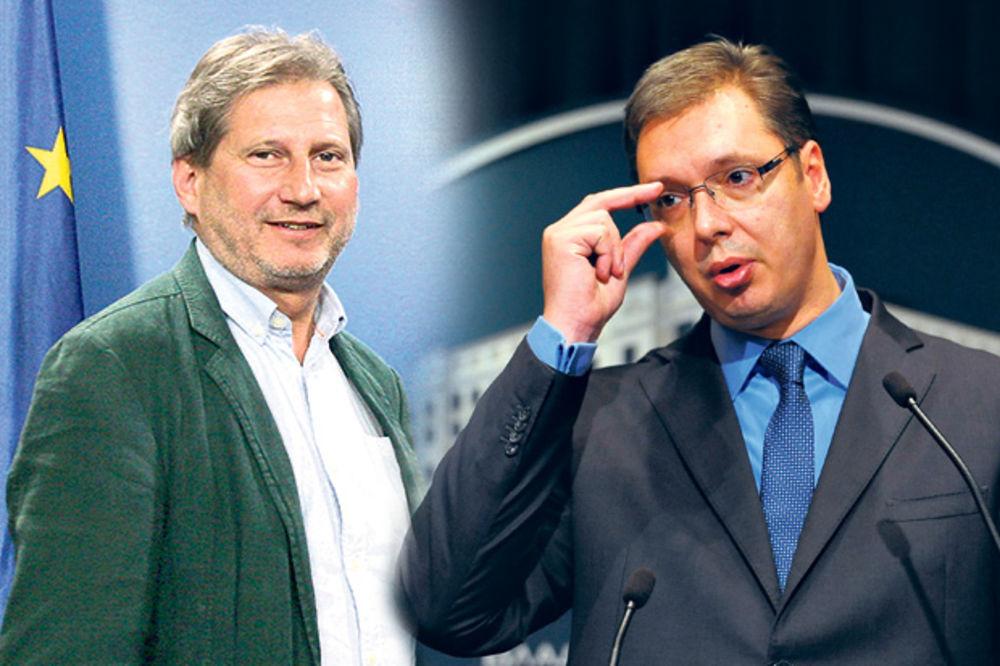 POSLEDNJA OPOMENA BRISELA Vučiću, biraj: EU ili Rusija!