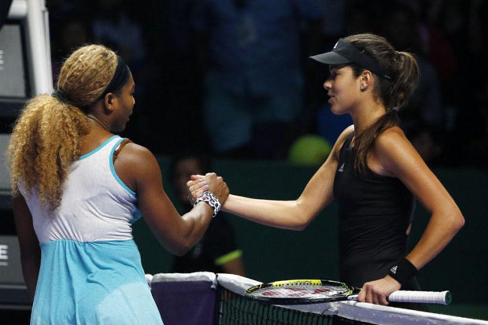 SRUŠILA NAJBOLJU TENISERKU SVETA: Serena Vilijams nemoćna pred Anom Ivanović