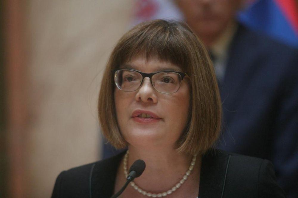 Gojkovićeva u Moskvi: Srbija nikada neće uvesti sankcije Rusiji