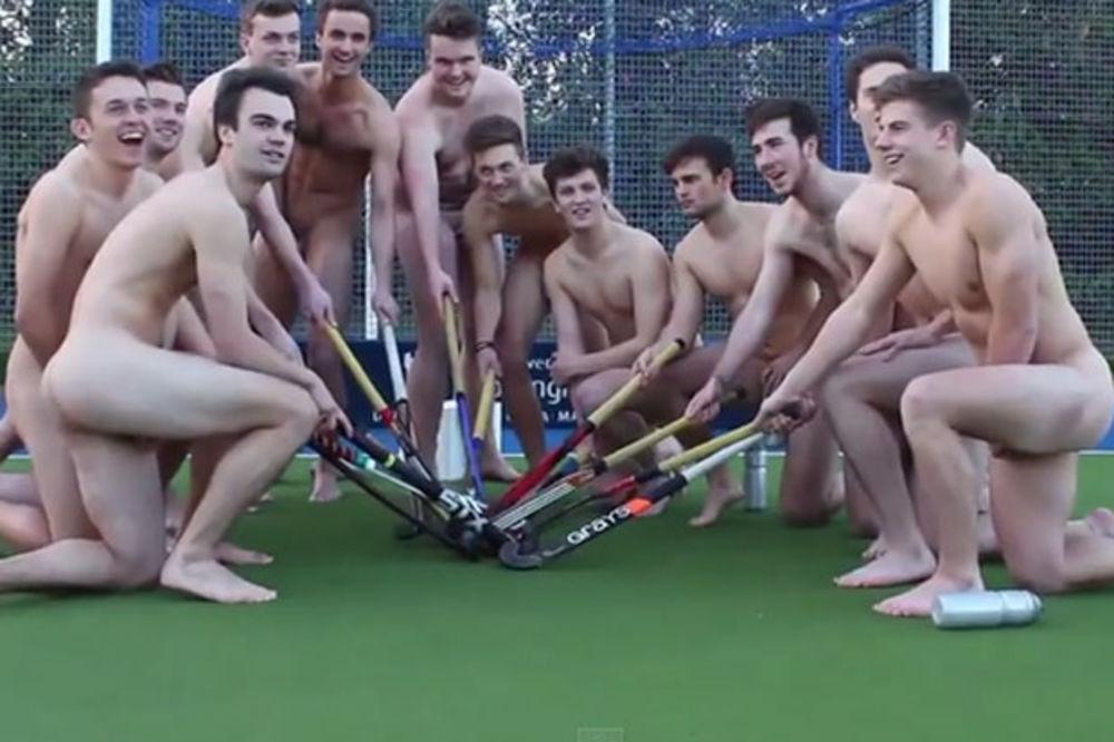(VIDEO) SKINULI SE: Goli engleski hokejaši u borbi protiv homofobije