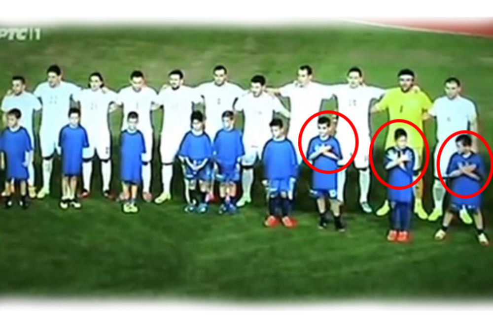 VIDEO, FOTO POGLEDAJTE NOVU PODVALU: Banetu poturili decu na Kritu da promovišu veliku Albaniju!