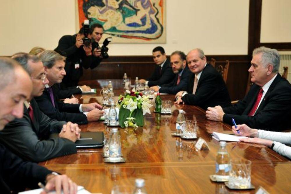 Predsednik Nikolić se sastao sa Hanom