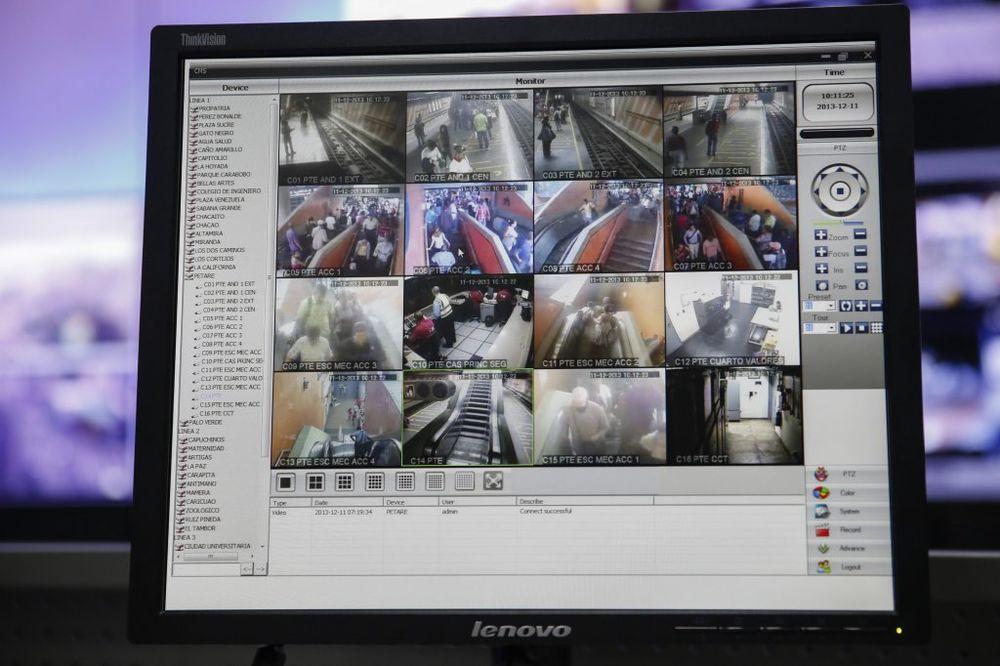 Kamere za nadzor, Foto Reuters