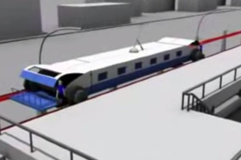 (VIDEO) NJIMA JE SVAKI SEKUND BITAN: Kinezi osmislili voz koji kupi putnike bez zaustavljanja!