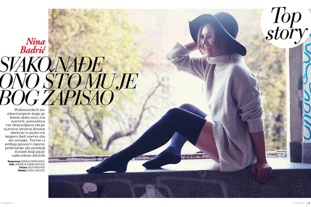 Nina Badrić za Story: Ponovo sam zaljubljena