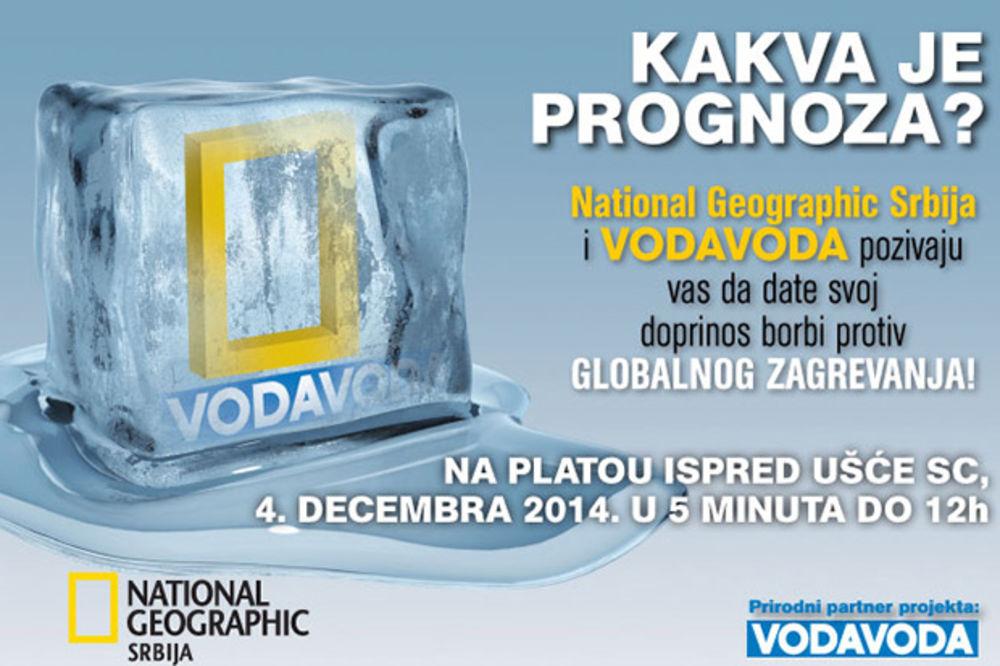 National Geographic i VodaVoda ledena kocka