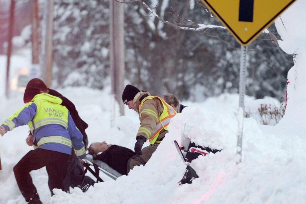 (VIDEO) STRAH U AMERICI: Posle snežne oluje prete poplave!