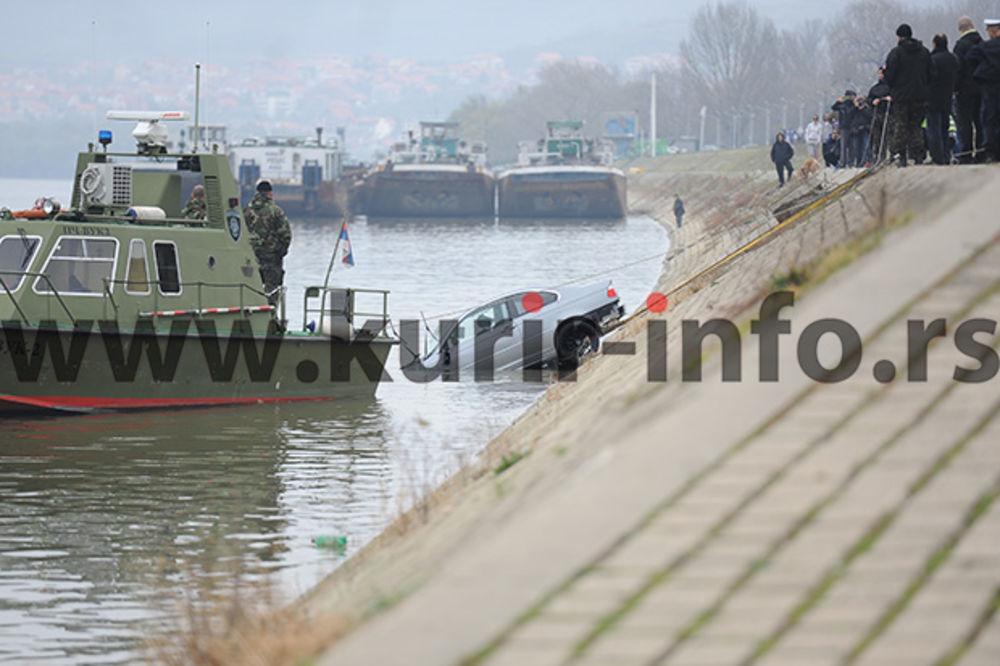 ISPOVEST RONIOCA: Dvojica mladića i devojka iskočili iz vozila dok je padalo u Dunav
