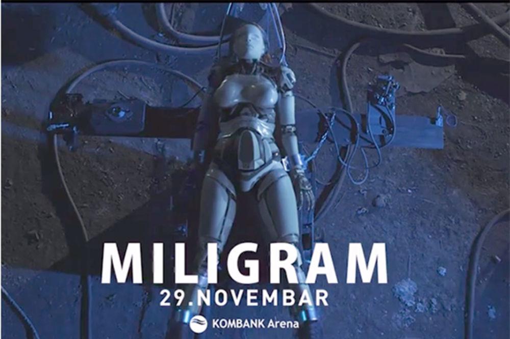 ČEKA VAS SPEKTAKL: Miligram najluđom reklamom najavljuje koncert!
