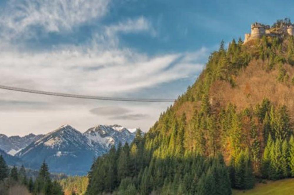 ZA GINISA: U Austriji otvoren najduži viseći most za pešake na svetu!