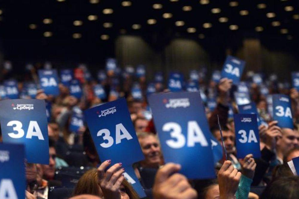 JEDNOGLASNO: Palma ponovo izabran za predsednika Jedinstvene Srbije