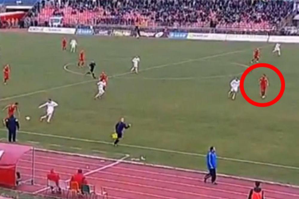 (VIDEO) OFSAJD PRE ISKLJUČENJA: Procenite da li je Crvena zvezda oštećena u Kragujevcu