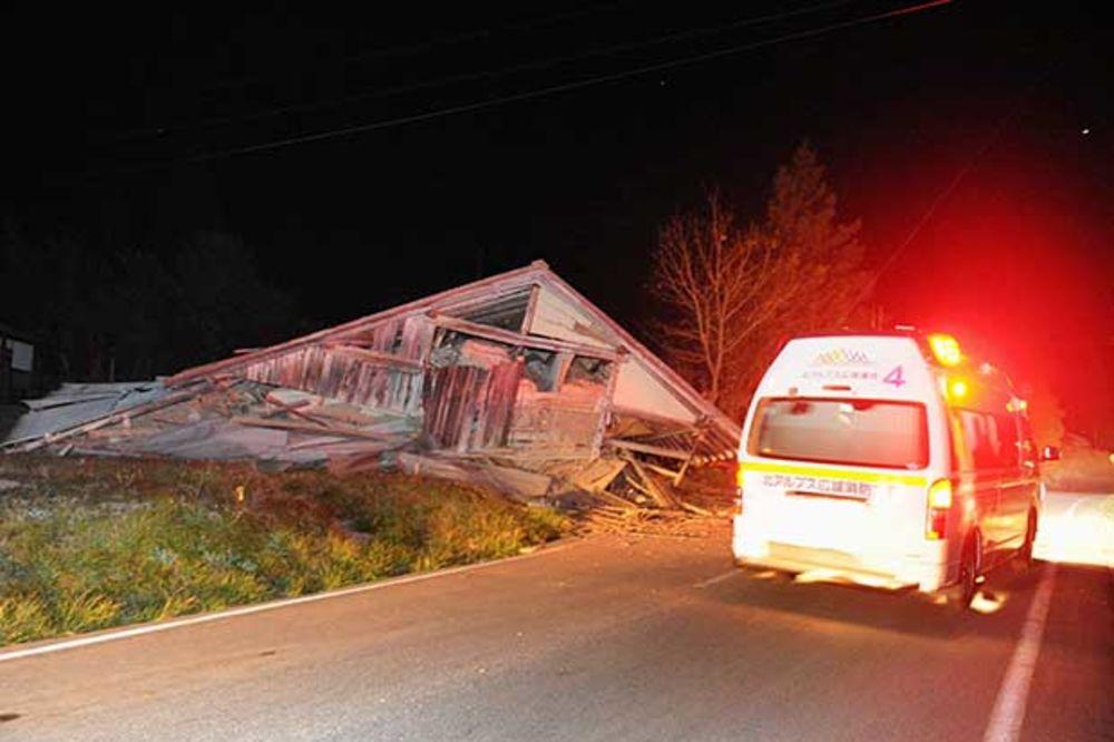 (VIDEO) OVAKO SE TRESAO JAPAN: Više od 10 ranjenih u dva potresa jačine 6,8 stepeni Rihtera