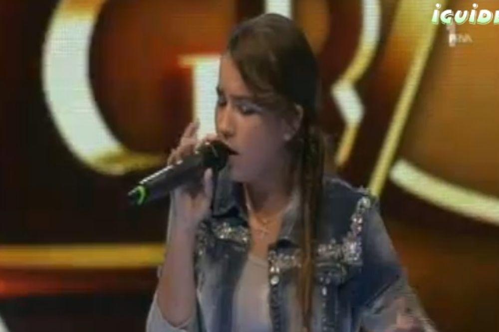 (VIDEO) ONA JE ZVEZDA GRANDA: Valentina (13) očarala žiri i dobila ovacije publike!