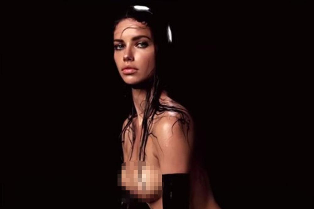 (VIDEO 18 +) SEKSI I VLAŽNA: Ovako se Adrijana Lima slikala gola za kalendar!