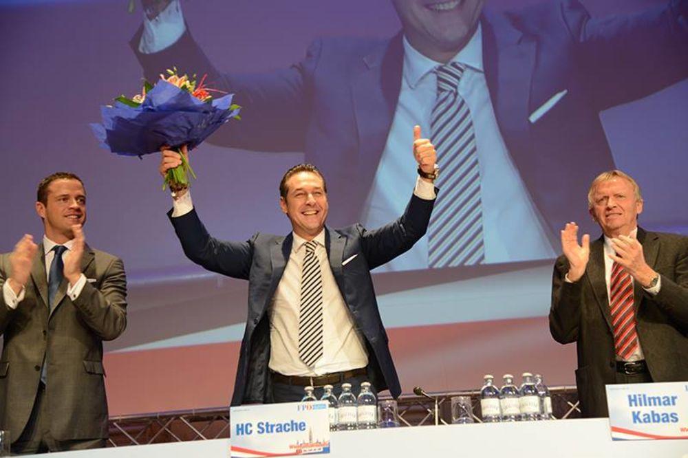 (VIDEO) ŠTRAHE PONOVO ŠEF FPÖ: Iduće godine ću poslati Hojpla u penziju!