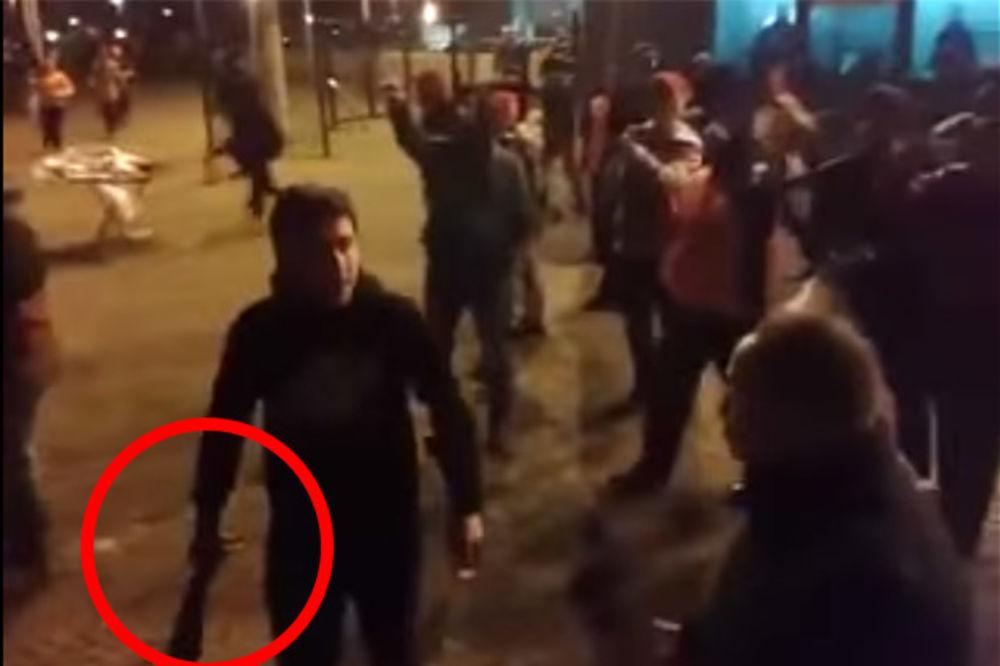 (VIDEO) SPREMALI MASAKR: Da li je ovo ubica navijača Zvezde Marka Ivkovića?