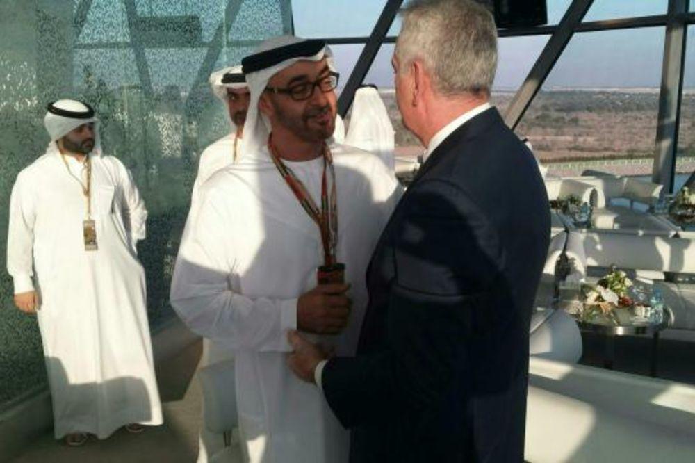 Nikolić nastavlja posetu Emiratima