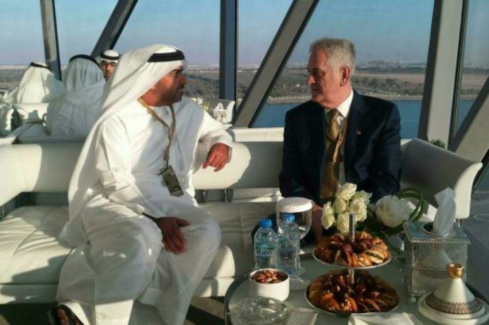 BEZ SUSRETA: Nikolić i Jahjaga na trci Formule 1 u Abu Dabiju