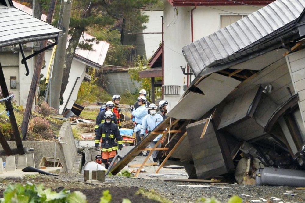 I DALJE U SKLONIŠTIMA: Japan trese niz naknadnih tremora zemlje
