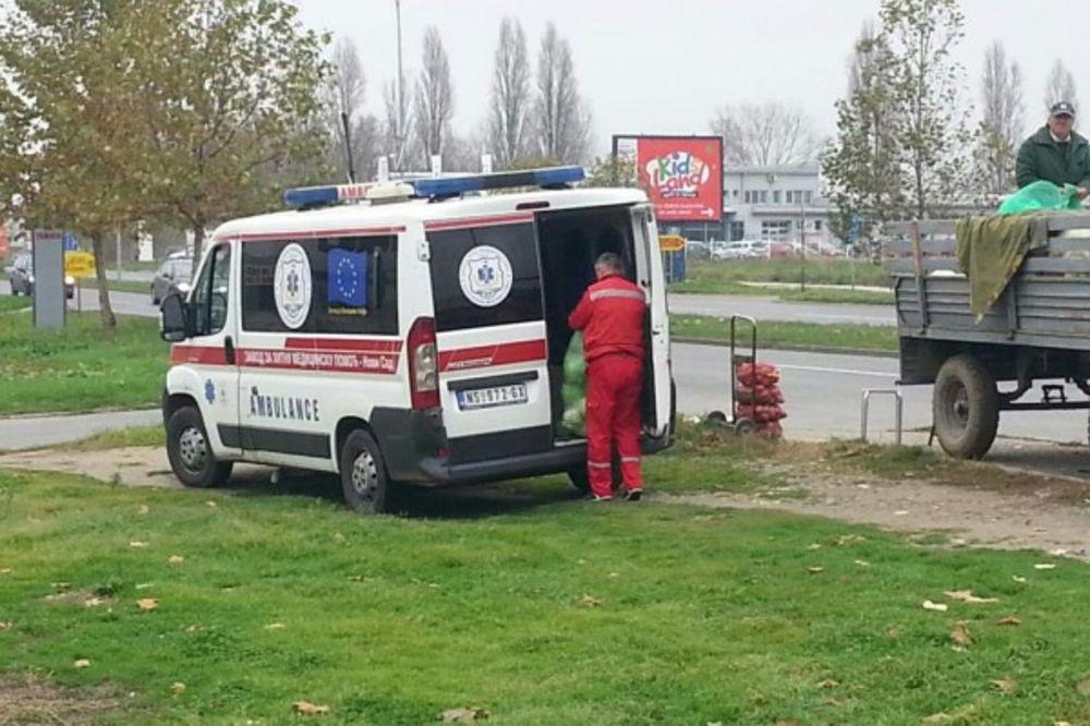SUSPENDOVAN: Vozač Hitne ambulantnim kolima prevozio kupus?!