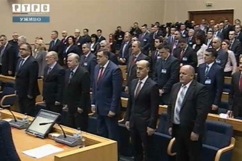 (VIDEO) UŽIVO IZ BANJALUKE: Počela konstitutivna sednica parlamenta Republike Srpske