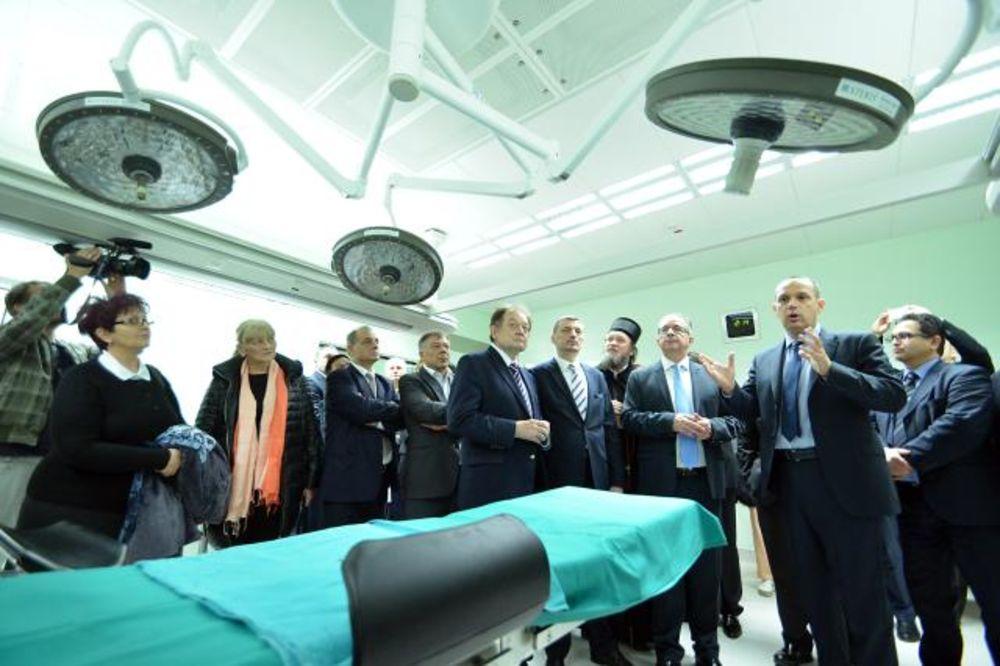 NIŠ: Lončar i Kirbi otvorili novu Kliniku za kardiohirurgiju