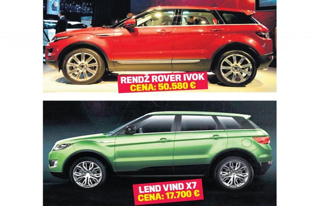 Kinezi iskopirali novi rendž rover