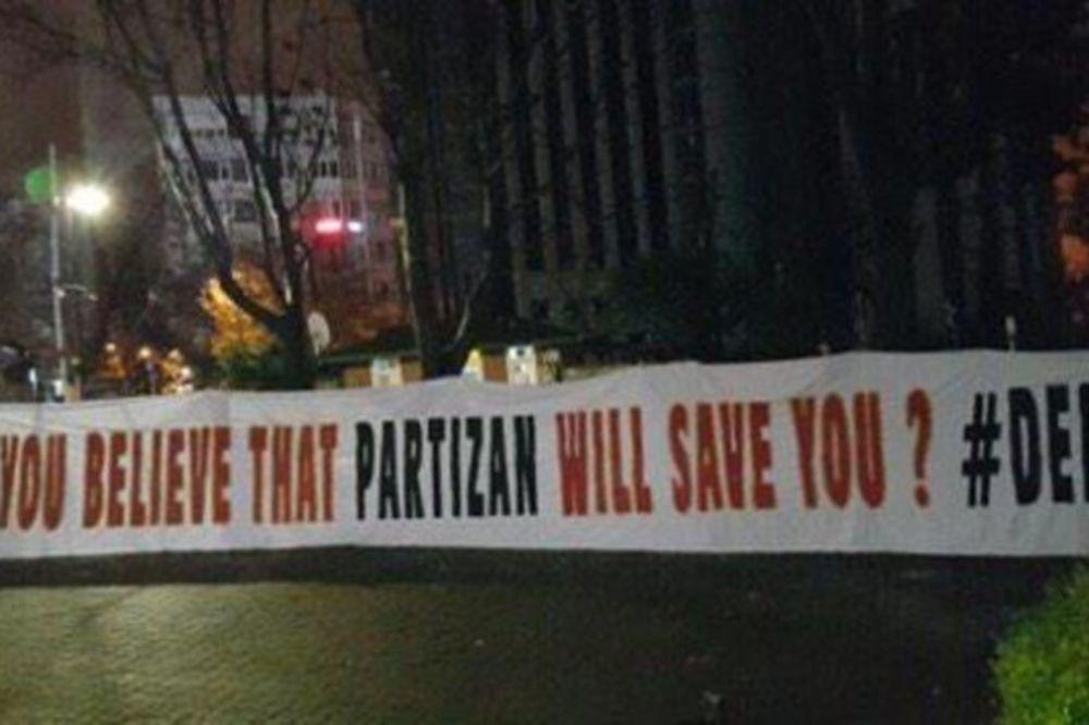 NAVIJAČI GALATE PITAJU DELIJE: Mislite da će vas Partizan sačuvati?