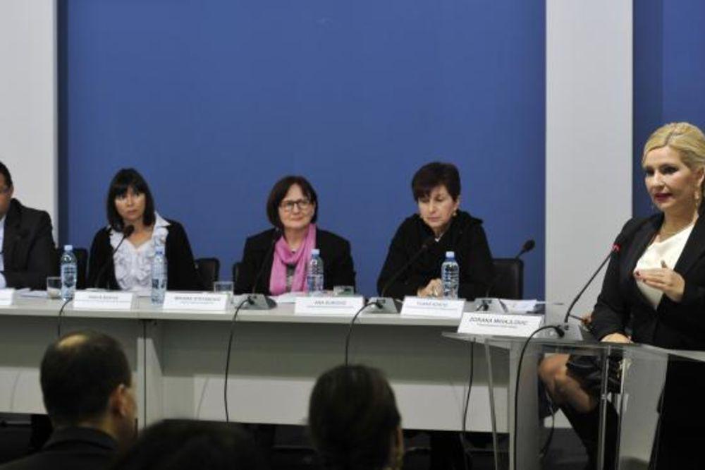 Mihajlovićeva: Nasilje trpi svaka druga žena u Srbiji