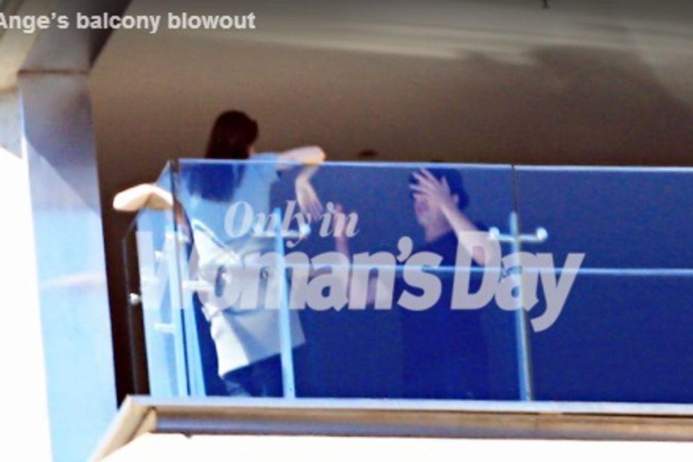 (FOTO I VIDEO) DA SAV SVET ZNA: Bred i Anđa svađali se na balkonu!