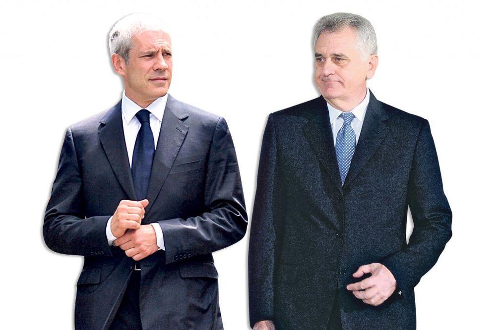 Tadić: Nikoliću su nesvrstani isto što i majmuni! Nikolić: Borise, ti si sad potpuno nebitan