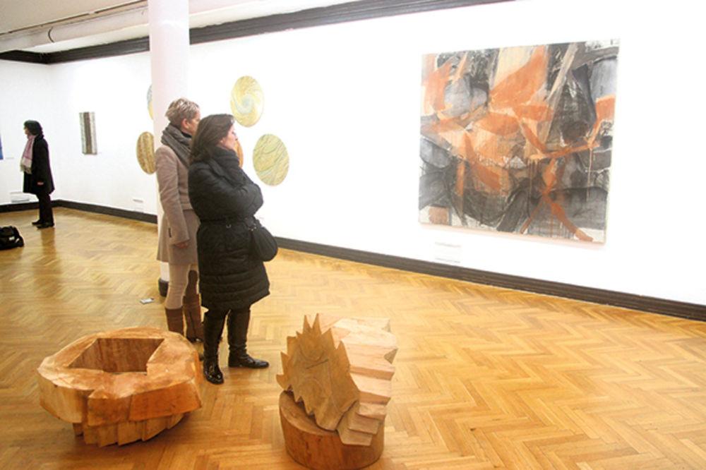 Izložba ULUS: Najbolji rad je Glava Milutina Milankovića!