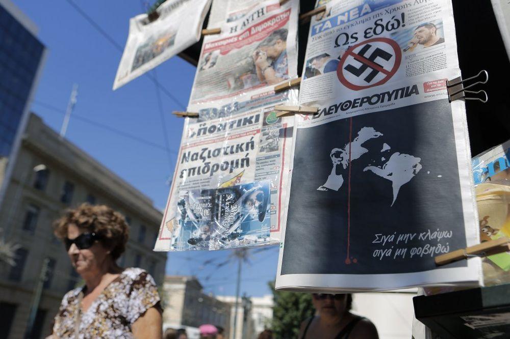 GRČKA PRED PARALIZOM: Danas štrajkuju novinari, sutra cela zemlja