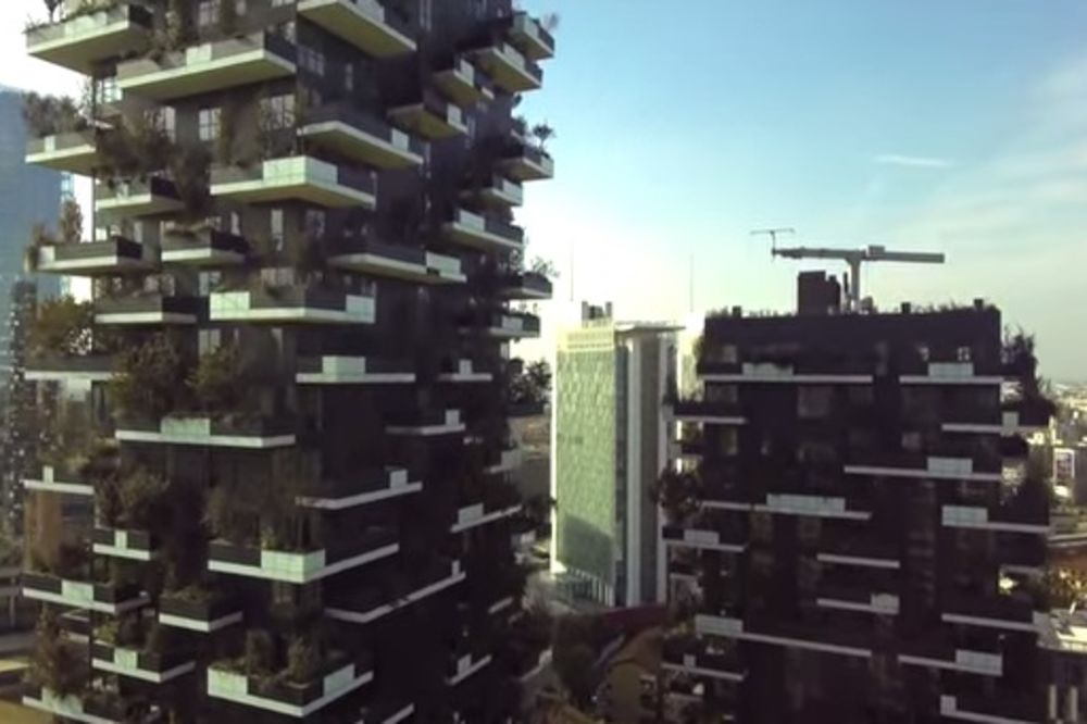 (VIDEO) GRADOVI BUDUĆNOSTI: Soliteri usred šume!
