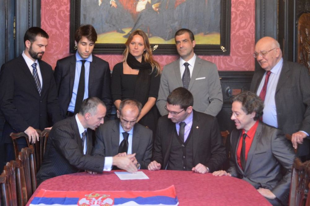 TREĆA SRBIJA: Potpisan Manifest Nove Evrope u Parizu