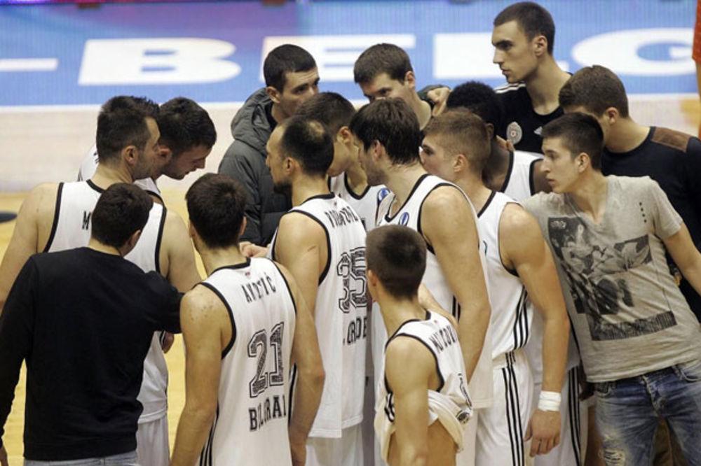 CRNO-BELI ISPUSTILI POBEDU: Partizan posle produžetka poražen u Turskoj