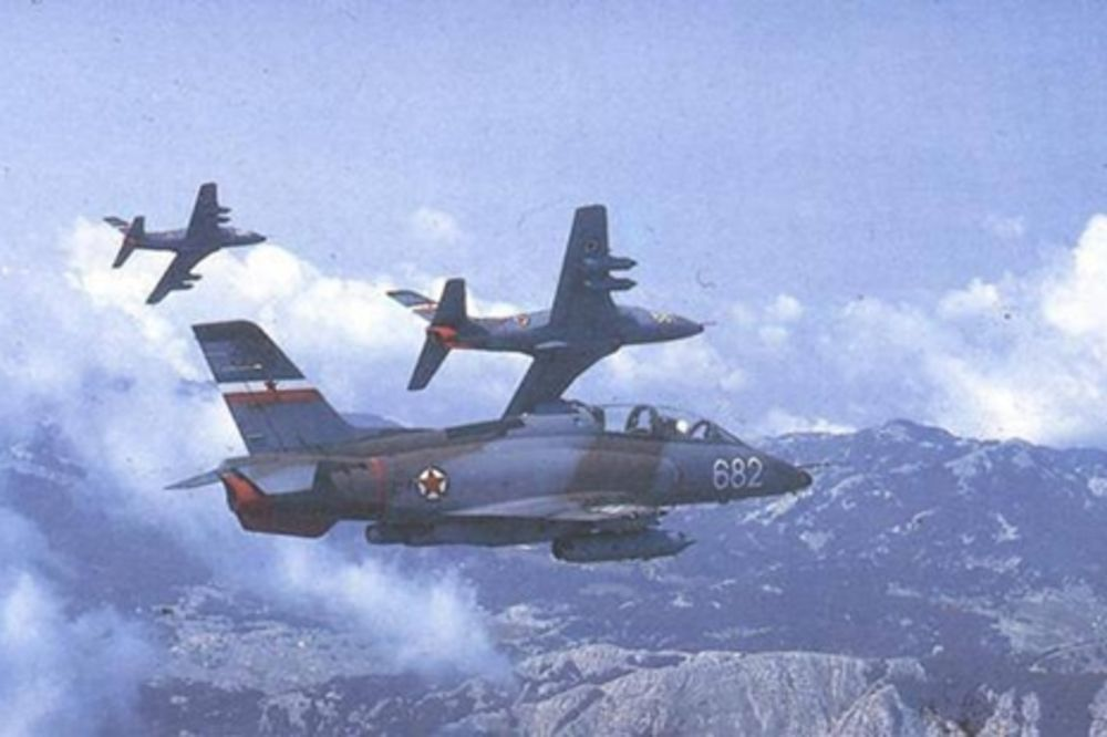 Jugoslovenski avioni galeb i orao