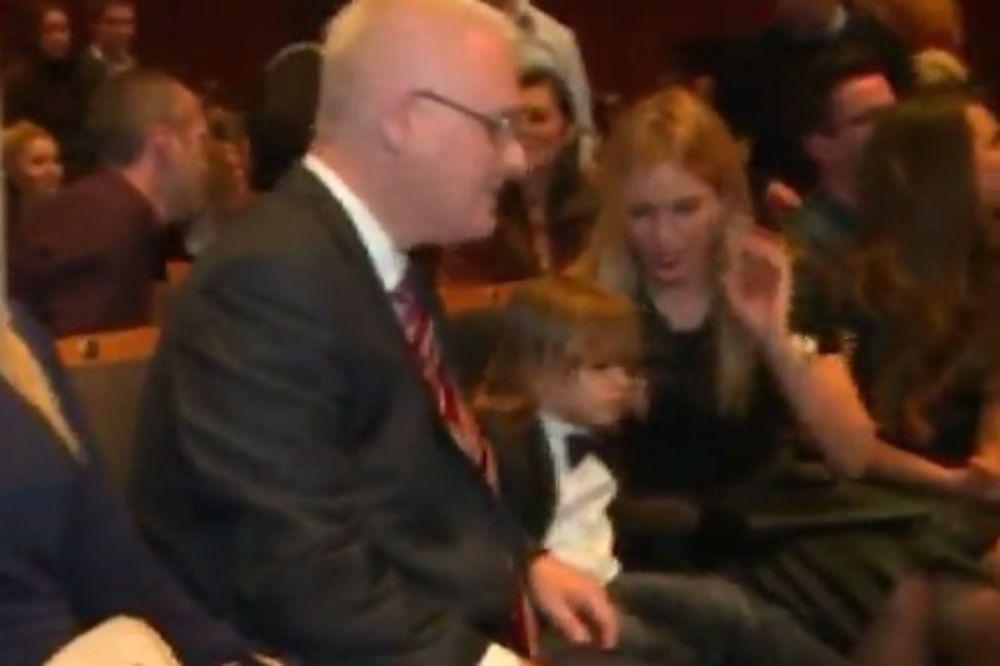 Severinin sin ćaskao sa hrvatskim predsednikom!