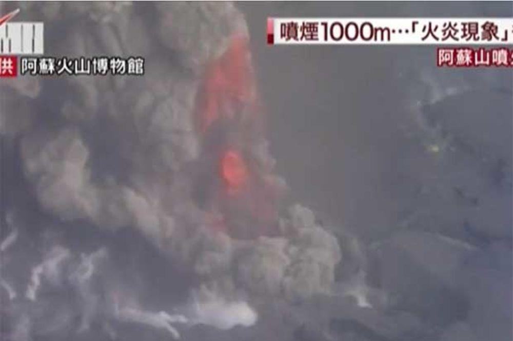 (VIDEO) ERUPCIJA: Proradio vulkan Aso, Japanci otkazuju i preusmeravaju letove