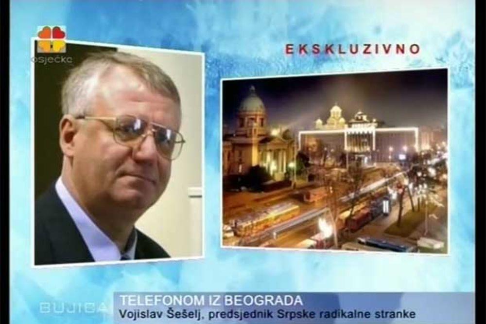 (VIDEO) ŠEŠELJ RADIO ZA HRVATE: Podržavam i cenim Ivu Josipovića i njegovog oca partizana!