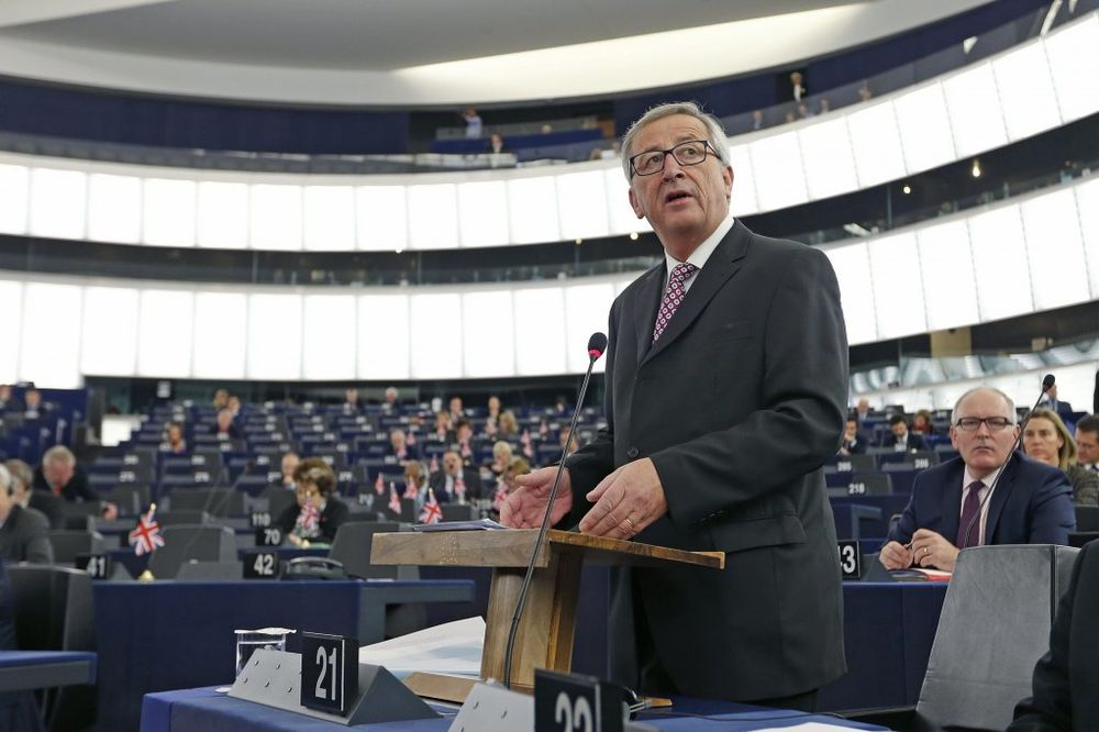 IZVUKAO SE: Žan-Klod Junker preživeo glasanje o poverenju u Evropskom parlamentu