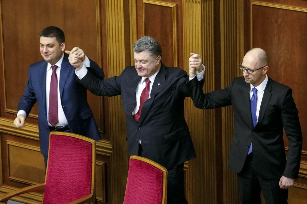 VRHOVNA RADA IZGLASALA: Arsenij Jacenjuk ostaje ukrajinski premijer