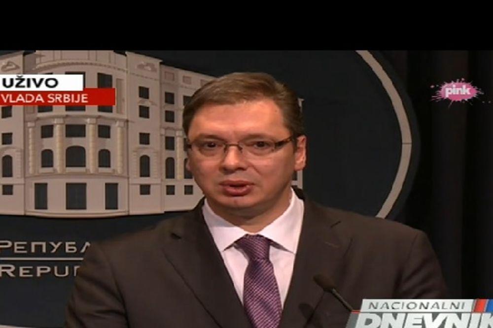 Vučić: Prošlo je vreme kada je Srbija bila vreća za udaranje!