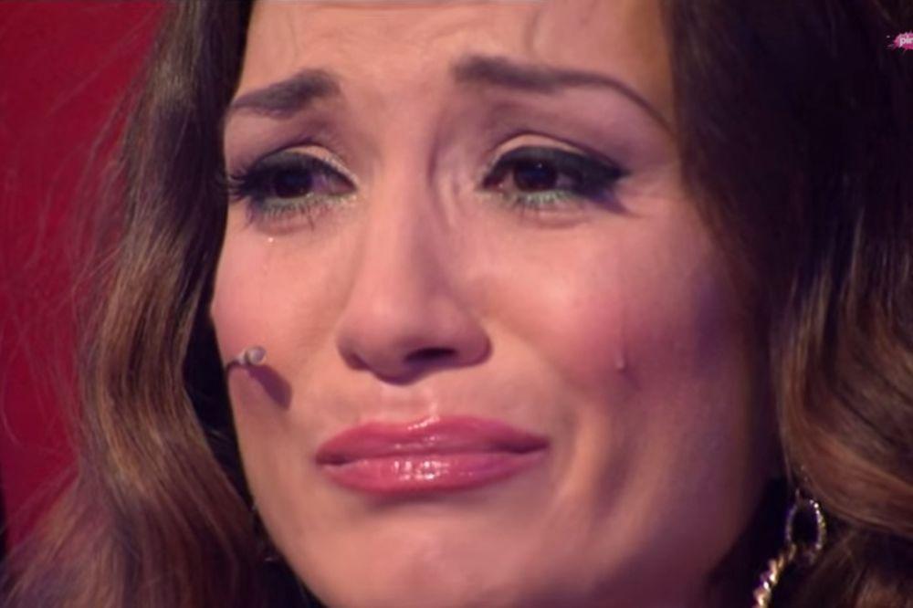 PALE SUZE: Jelena Tomašević se rasplakala u Pinkovim zvezdicama!