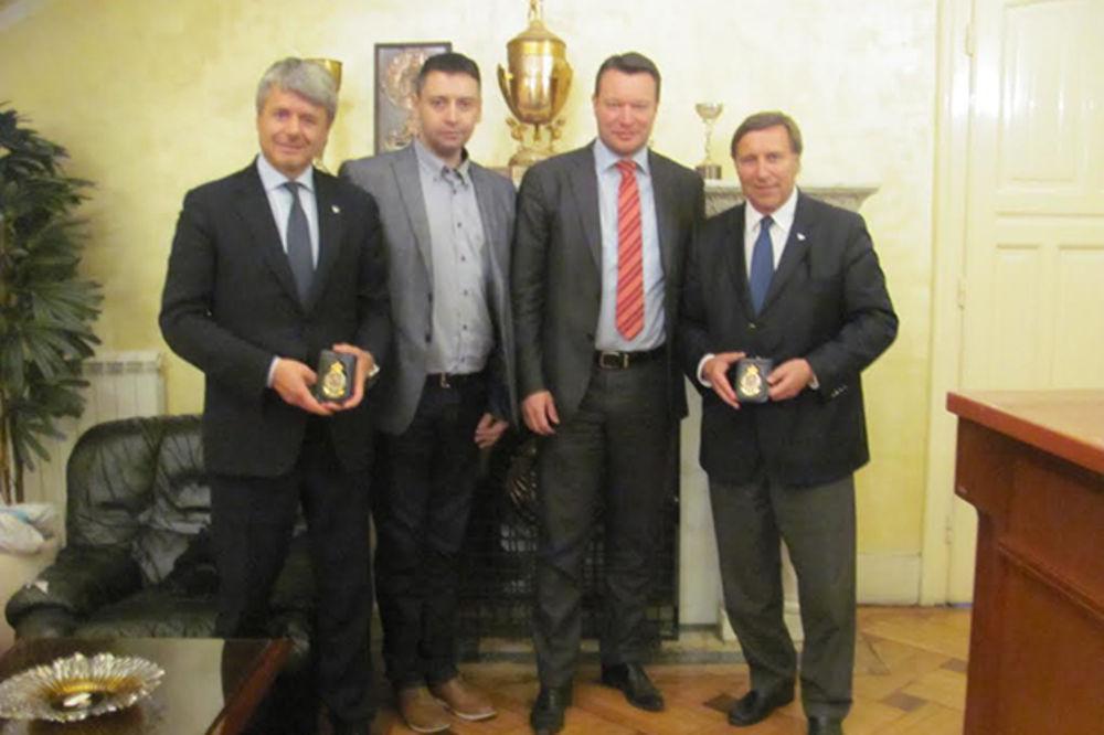 PUNA PODRŠKA: Visoka delegacija FIM Evropa u poseti AMSS i Sajmu sporta!