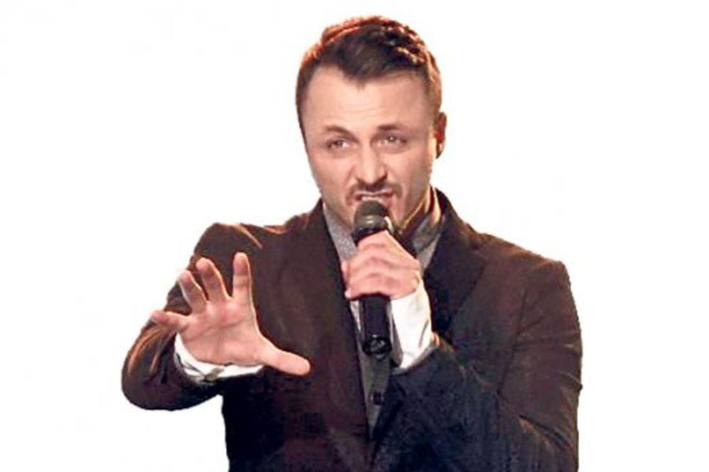 Daniel Kajmakoski u filmu Darka Bajića