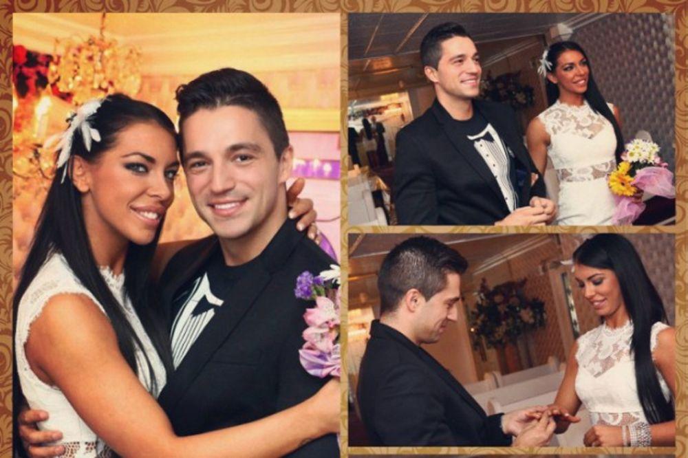 (FOTO) Ovako je bilo na venčanju Vlade i Ane-Marije u Las Vegasu!